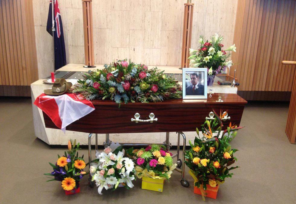 Basic cremation service coffin