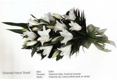 Funeral Sheath oriental hand