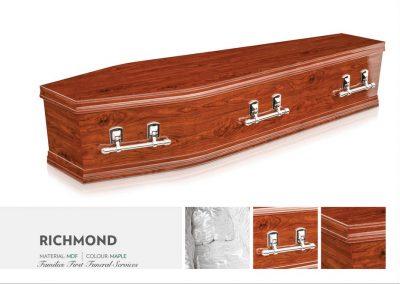 Richmond Maple Coffin